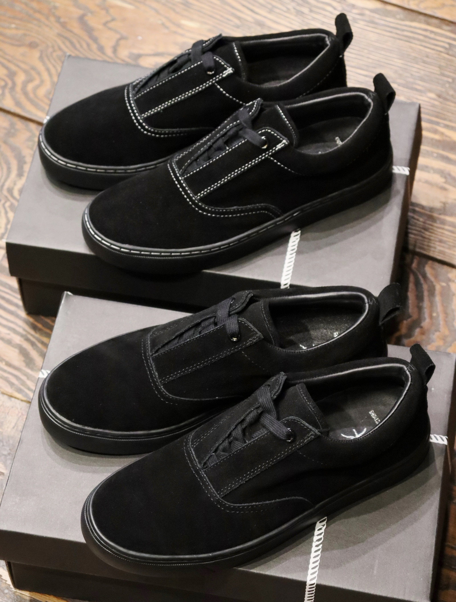 COOTIE × Tomo&Co.  「 Raza Lace Up Shoes (SUEDE) 」 レースアップシューズ