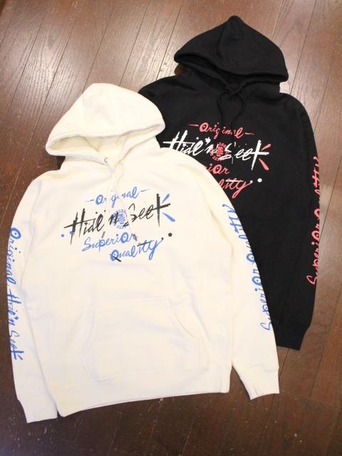 HIDEANDSEEK × TENDERLOIN 「HIDEANDSEEK × TENDERLOIN Hooded Sweatshirt-1」 プルオーバーパーカー