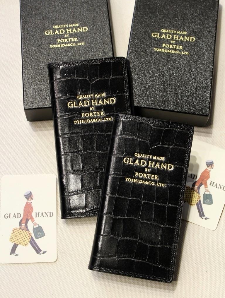 PORTER × GLAD HAND  「GH - PARCEL」  レザー iPhone 8 & Xケース