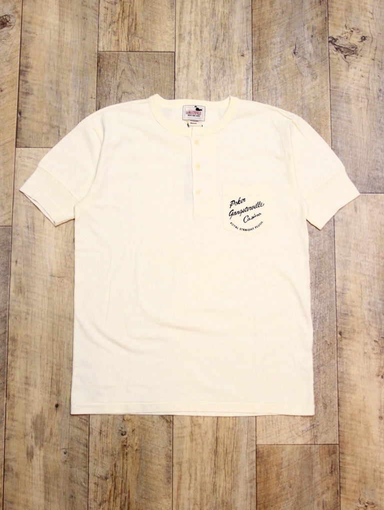 GANGSTERVILLE   「CASINO DAILY - S/S HENRY T-SHIRTS」   プリントティーシャツ