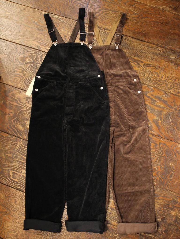 TROPHY CLOTHING  「Cord Low Back 」  ローバック コーデュロイオーバーオール