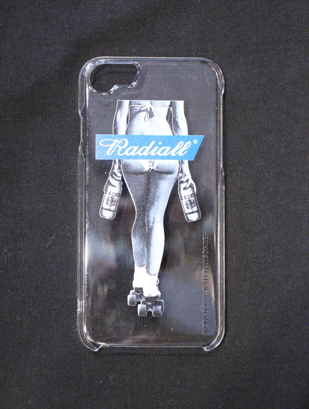 RADIALL  「FOURTY OZ LADY - IPHONE CASE for 6/6s/7/8」  iPhone  6、6s、7、8 ケース