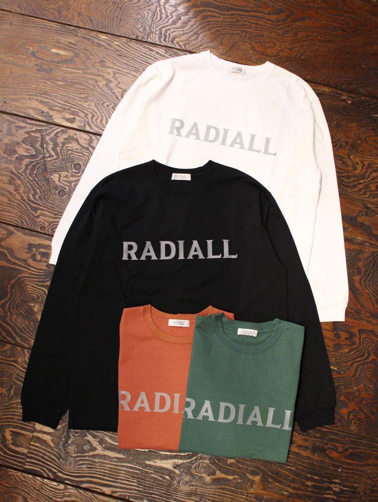 RADIALL    「LOGO TYPE - CREW NECK T-SHIRT L/S」 ロングスリーブティーシャツ