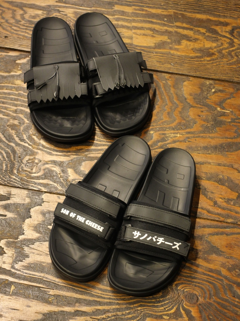 SON OF THE CHEESE × RetroVert  「SOTC RetroVert Slides 」  サンダル