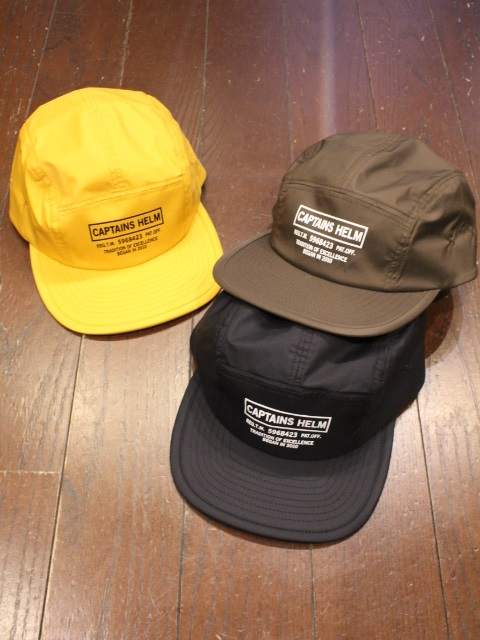 CAPTAINS HELM   「 #WATER-PROOF LOGO JET CAP 」  ジェットキャップ