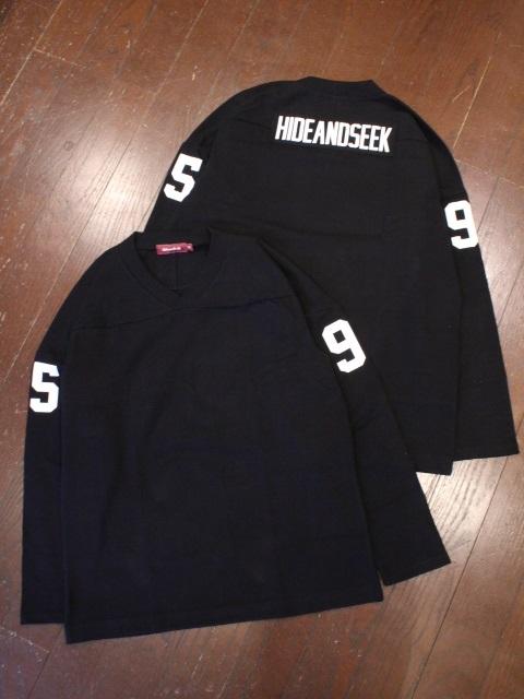 HIDEANDSEEK 「Hockey Jersey」 ゲームシャツ