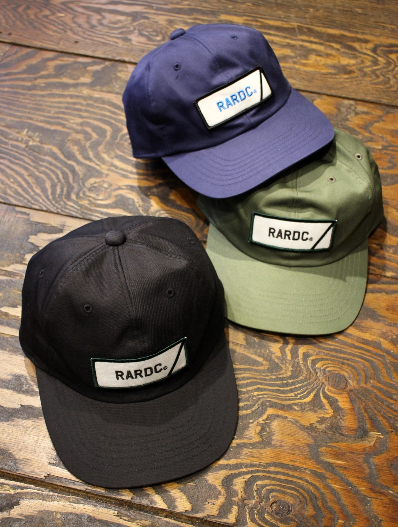 ROUGH AND RUGGED   「 DESIGN CAP-02 」 キャップ