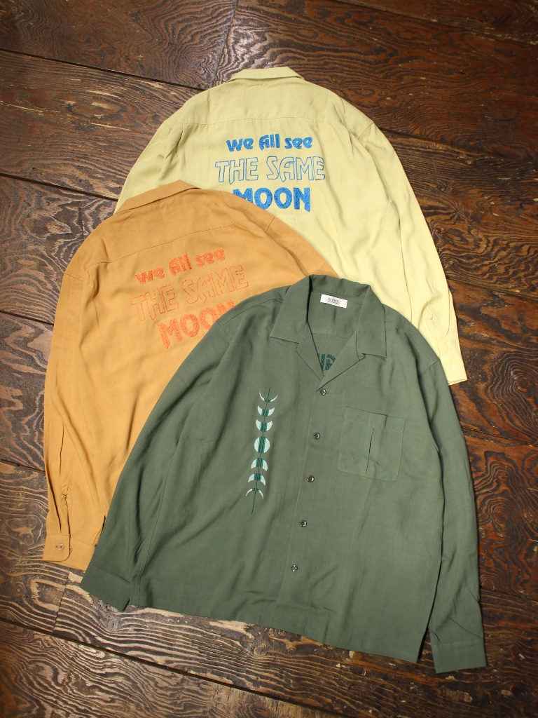 RADIALL  「HARVEST - OPEN COLLARED SHIRT L/S」  オープンカラーレーヨンシャツ