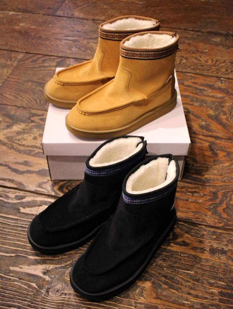 RADIALL × SUICOKE  「RED WOOD - MOUTON BOOTS」  ムートンブーツ