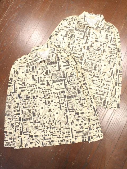 SOFTMACHINE  「CIRCUIT SHIRTS L/S」 オープンカラーシャツ