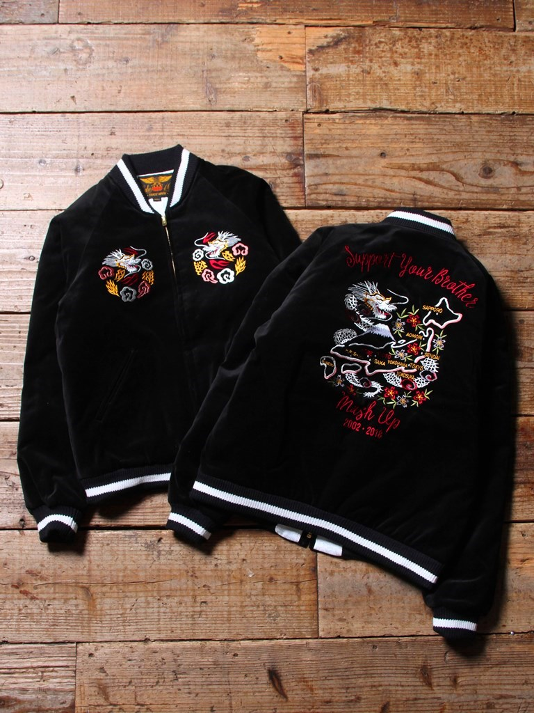 【 Anniversary Limited Item !! 】  CALEE × MASH UP  「15th ANNIVERSARY SOUVENIR JACKET」 スーベニアジャケット