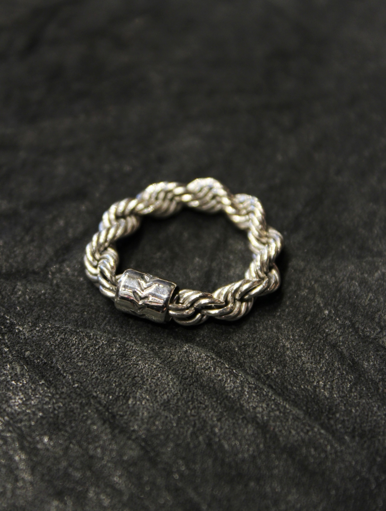 RADIALL  「TWIST - PINKY RING / WIDE」 SILVER 925製 ピンキーリング
