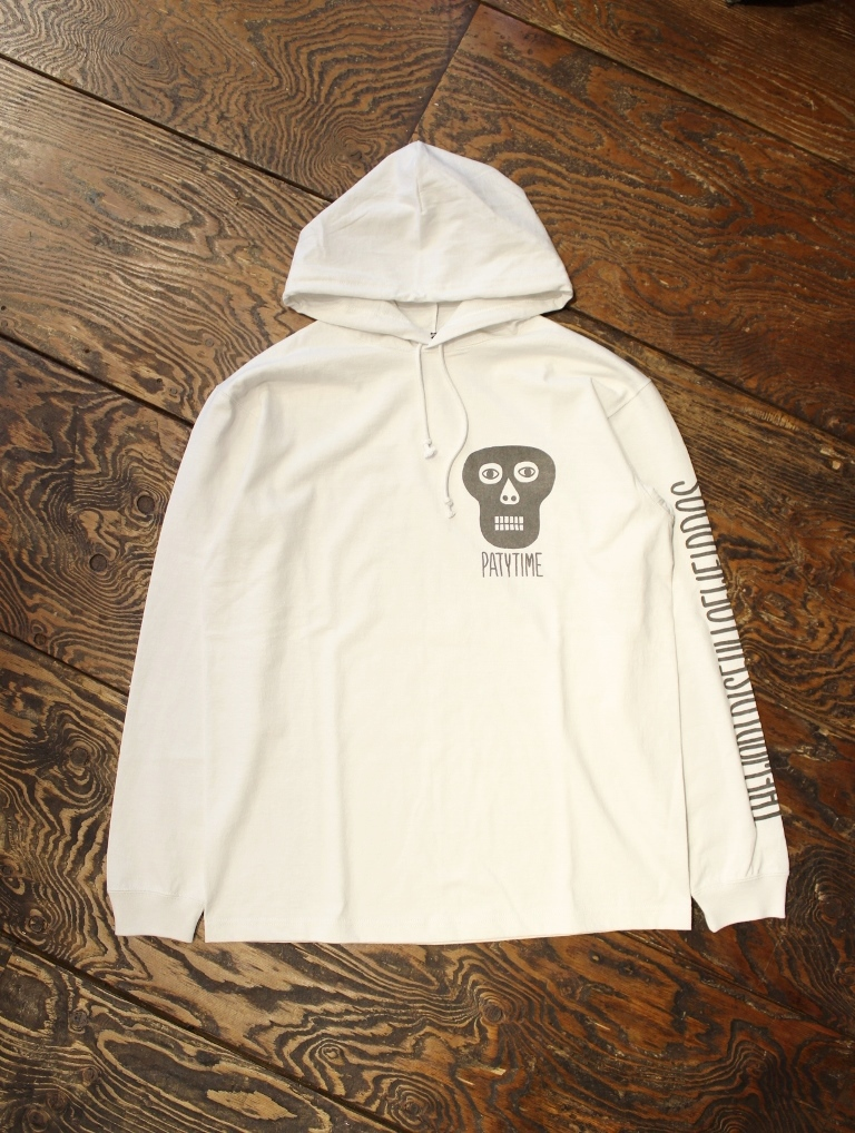 COOTIE  「  Hooded Print L/S Tee (BLACK MASK) 」  フーデットプリントロングスリーブティーシャツ