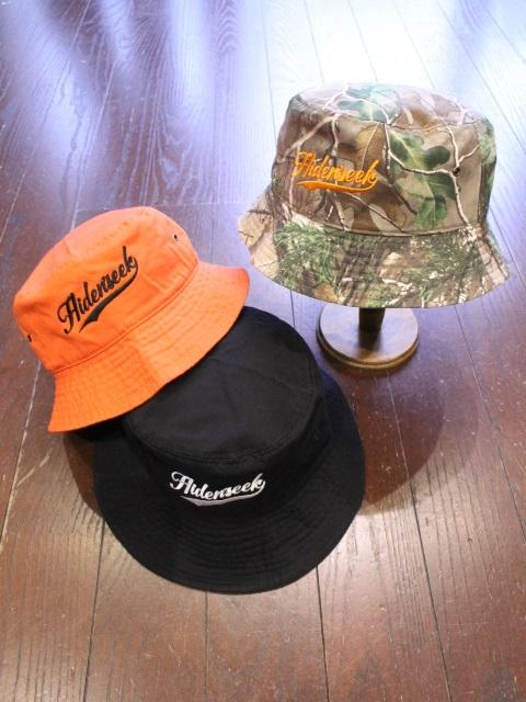 HIDEANDSEEK 「Crusher HAT(21ss)」 バケットハット