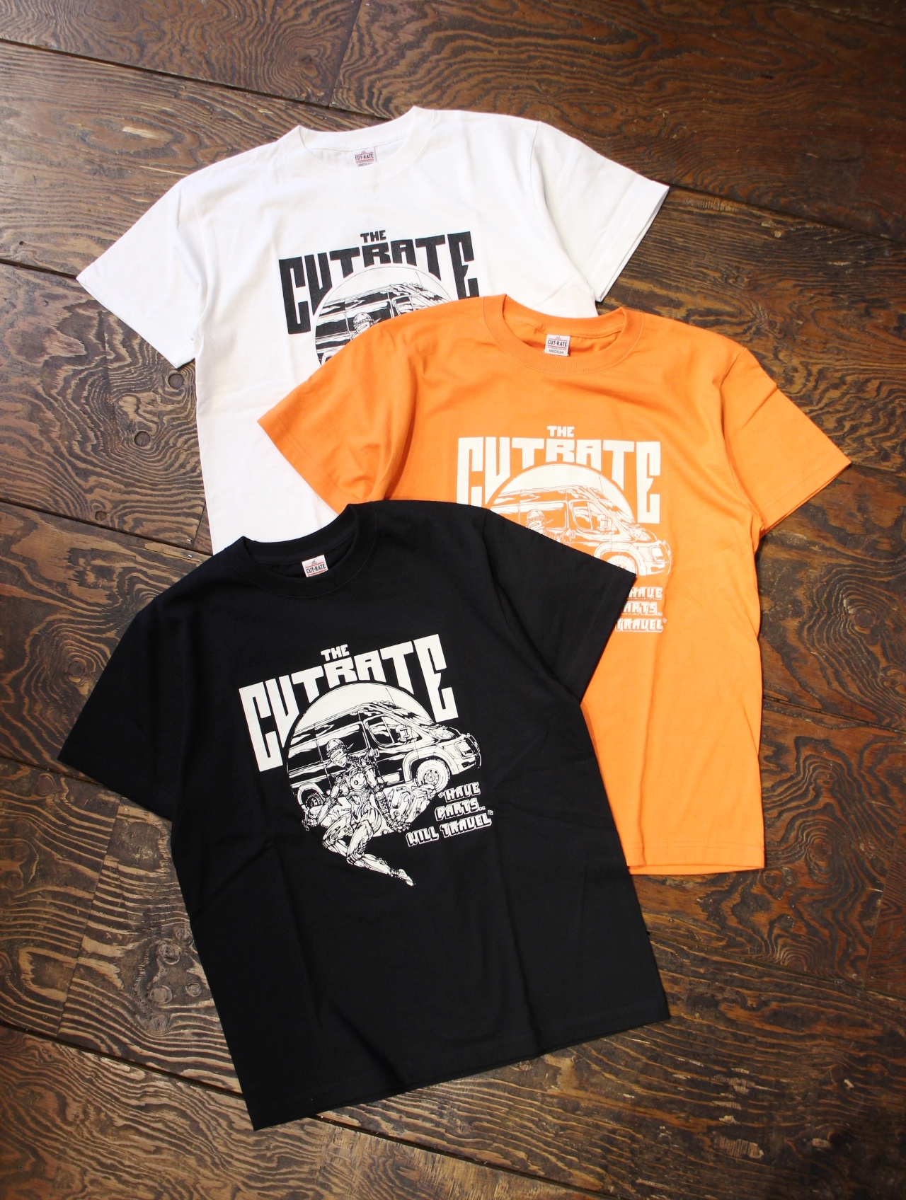 CUT RATE  「PROMASTER T-SHIRT」 プリントティーシャツ