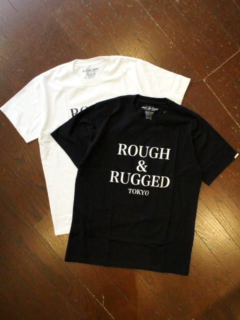 ROUGH AND RUGGED  「DESIGN CT-01」 プリントティーシャツ