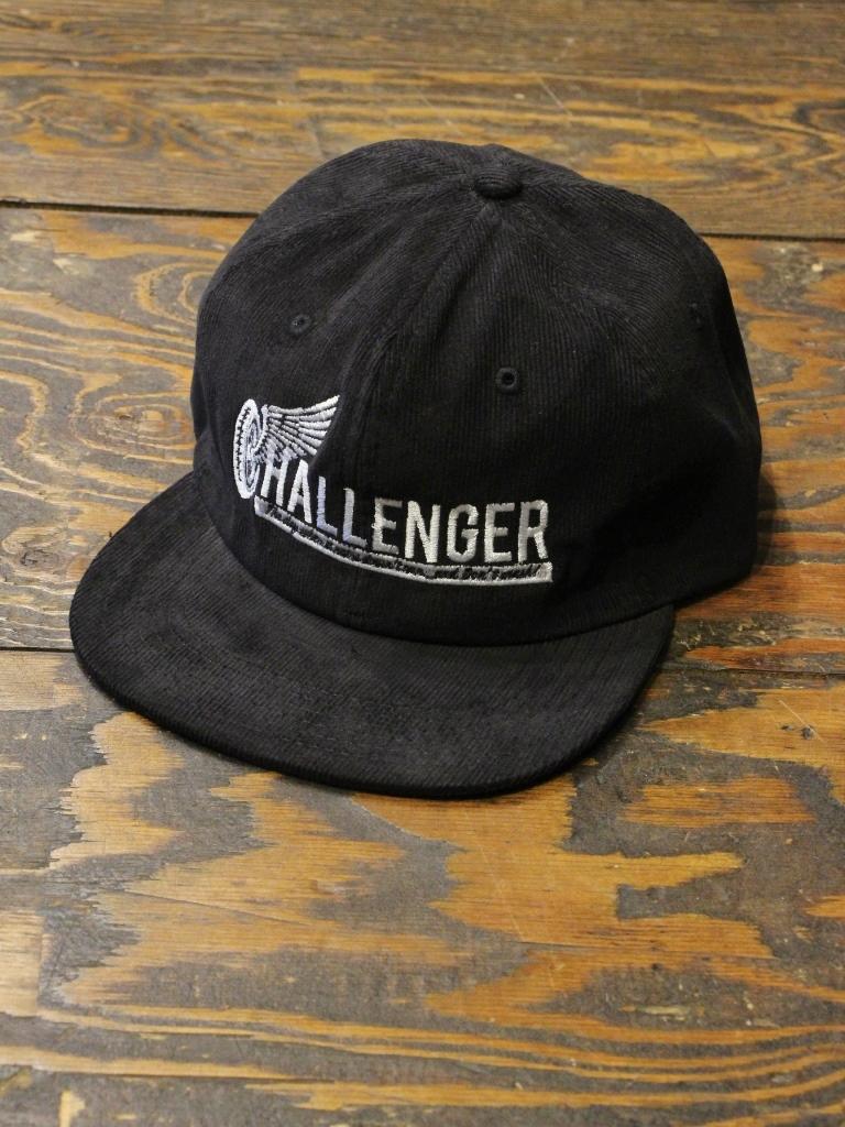 CHALLENGER   「WHEEL LOGO CORDUROY CAP」 コーデュロイキャップ