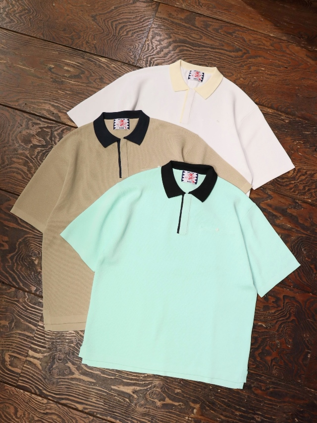 SON OF THE CHEESE  「 Cleric Polo 」 ポロシャツ