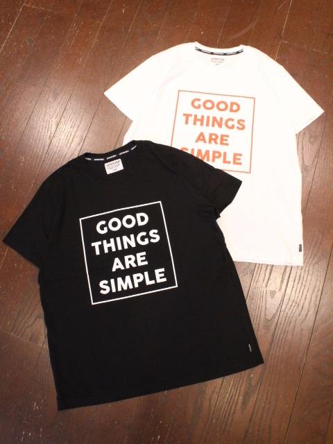 CAPTAINS HELM   「 #GOOD THINGS TEE 」  プリントティーシャツ