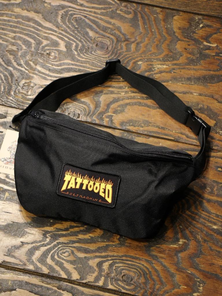 SOFTMACHINE  「NEW SKOOL WEST BAG」 ウエストバッグ