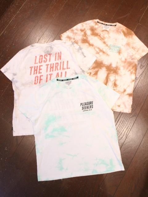CAPTAINS HELM   「 #THRILL TIE-DYE TEE 」  タイダイ染めティーシャツ