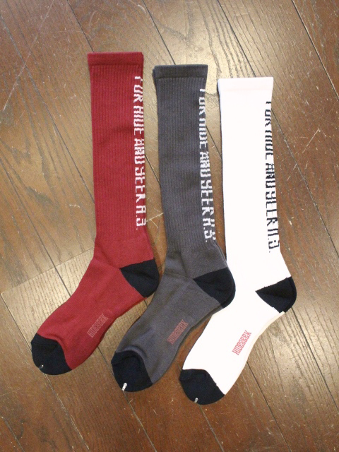 HIDEANDSEEK 「FOR H.S. Hi SOX」 ハイソックス