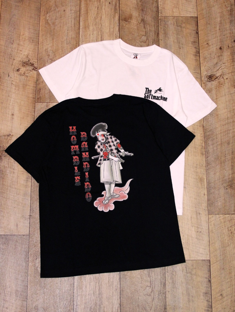 SOFTMACHINE  「HOMBLE - T」 プリントティーシャツ
