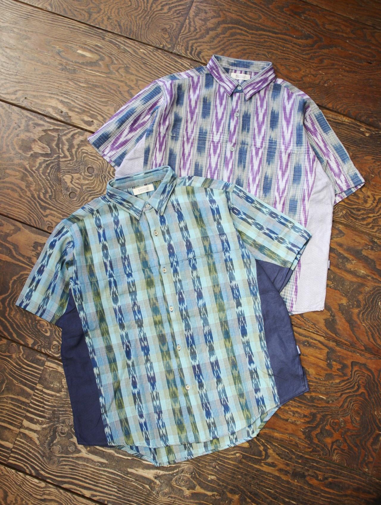 RADIALL  「EL CAMINO - REGULAR COLLARED SHIRT S/S」  レギュラーカラーシャツ