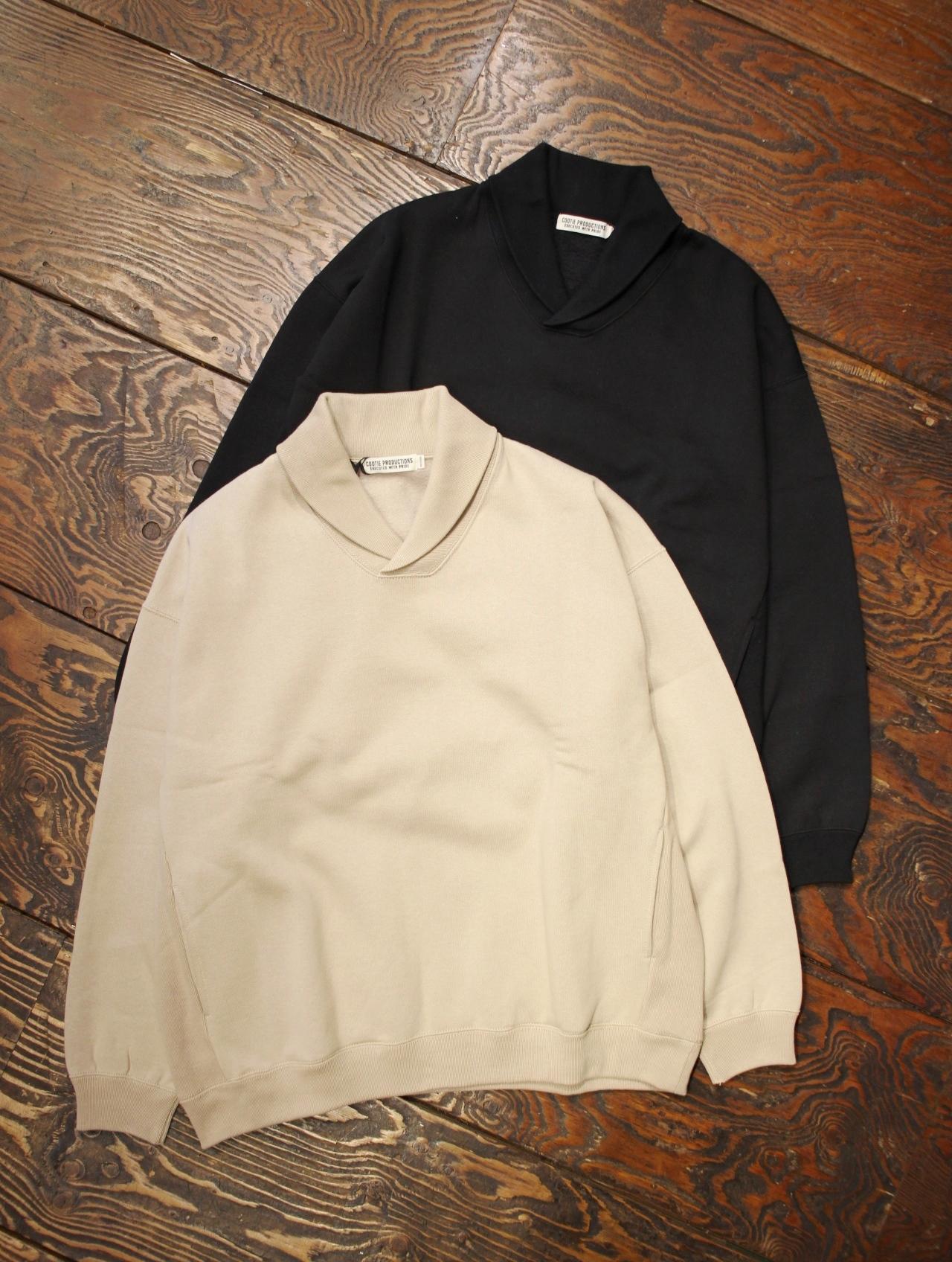 COOTIE  「T/C Shawl Collar Sweatshirt 」 ショールカラースウェット