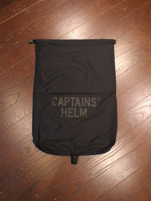 CAPTAINS HELM   「 #DRY BAG - 40L  」  ポータブルバッグ