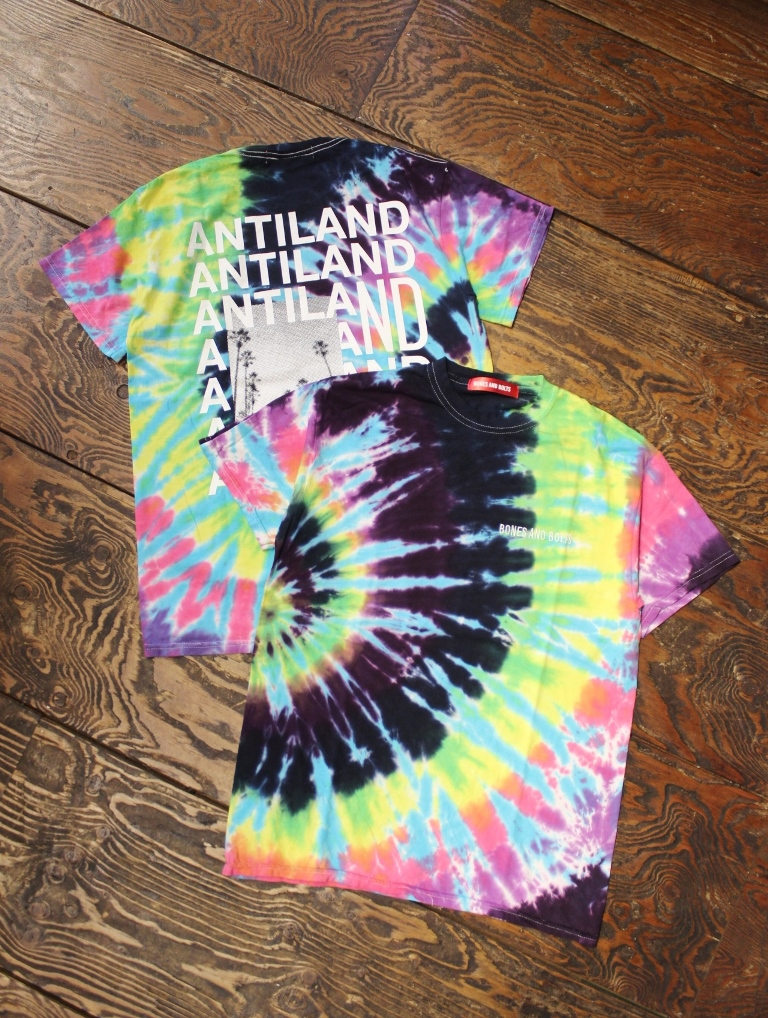 BONES & BOLTS  「TEE (TIE-DYE) FLASH BACK」 タイダイティーシャツ
