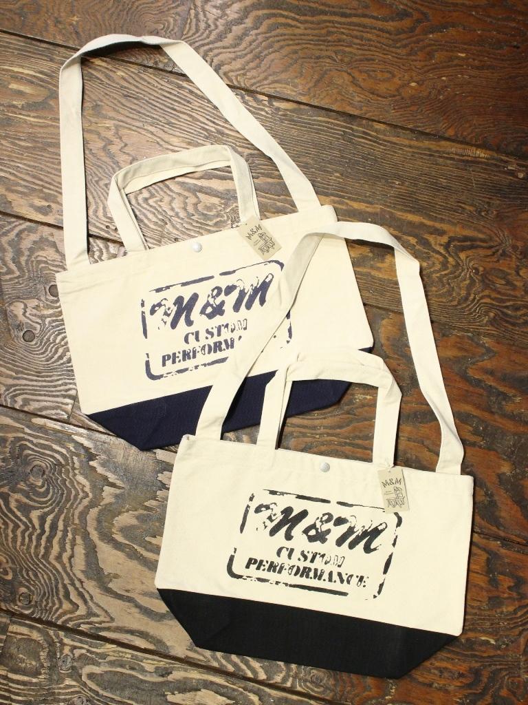 【 10月13日 発売!】 M&M CUSTOM PERFORMANCE  「2WAY CANVAS TOTE BAG」 2WAY キャンバストートバッグ