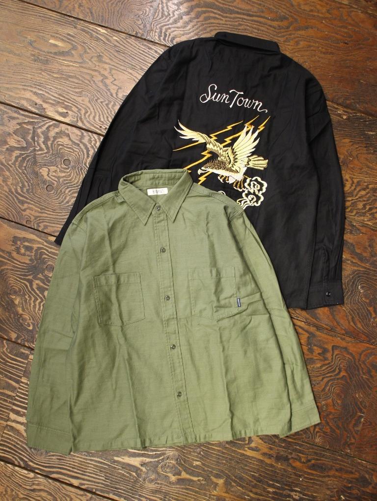 RADIALL  「FAR EAST - REGULAR COLLARED SHIRT L/S」  スーベニアシャツ