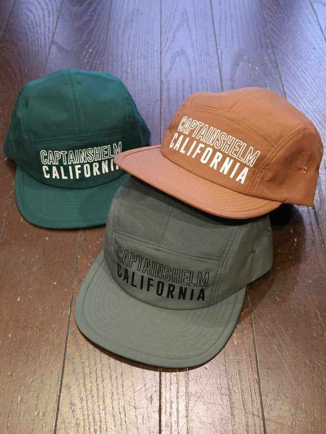 CAPTAINS HELM   「 #CH/CA WATER-PROOF JET CAP 」  ジェットキャップ