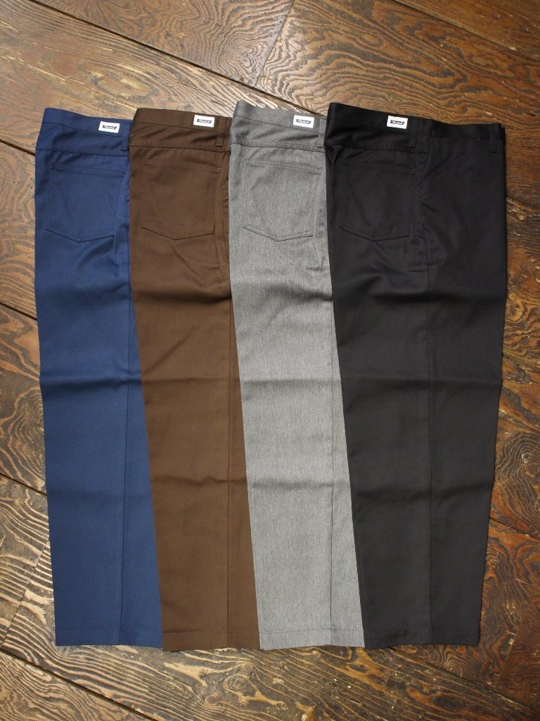 RADIALL   「CONQUISTA - WIDE TAPERED FIT PANTS」 ワイドテーパードワークパンツ