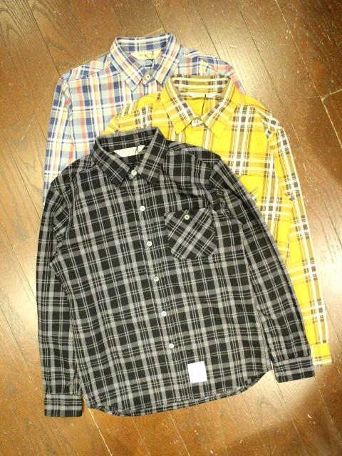 SOFTMACHINE  「DAILY FLANNEL」 フランネルチェックシャツ