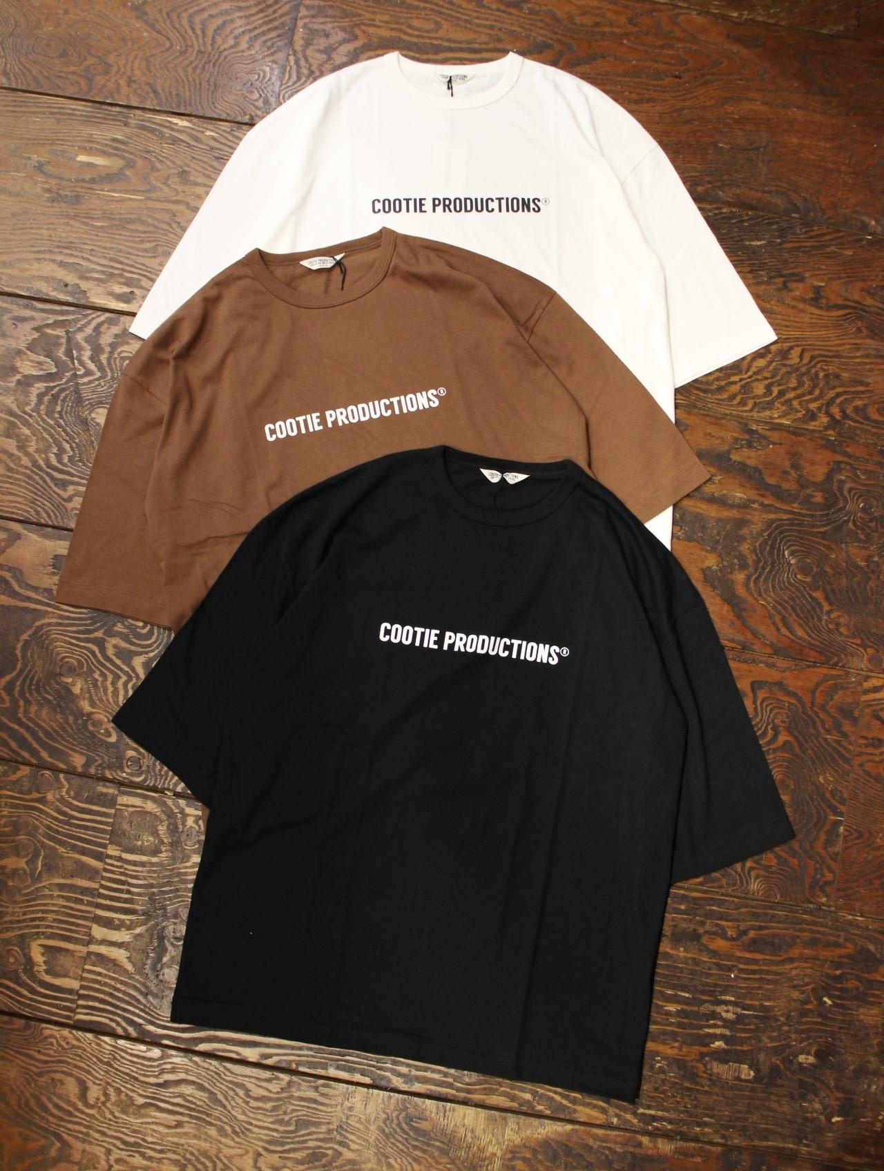 COOTIE  「 Print S/S Tee (COOTIE LOGO)」  プリントティーシャツ