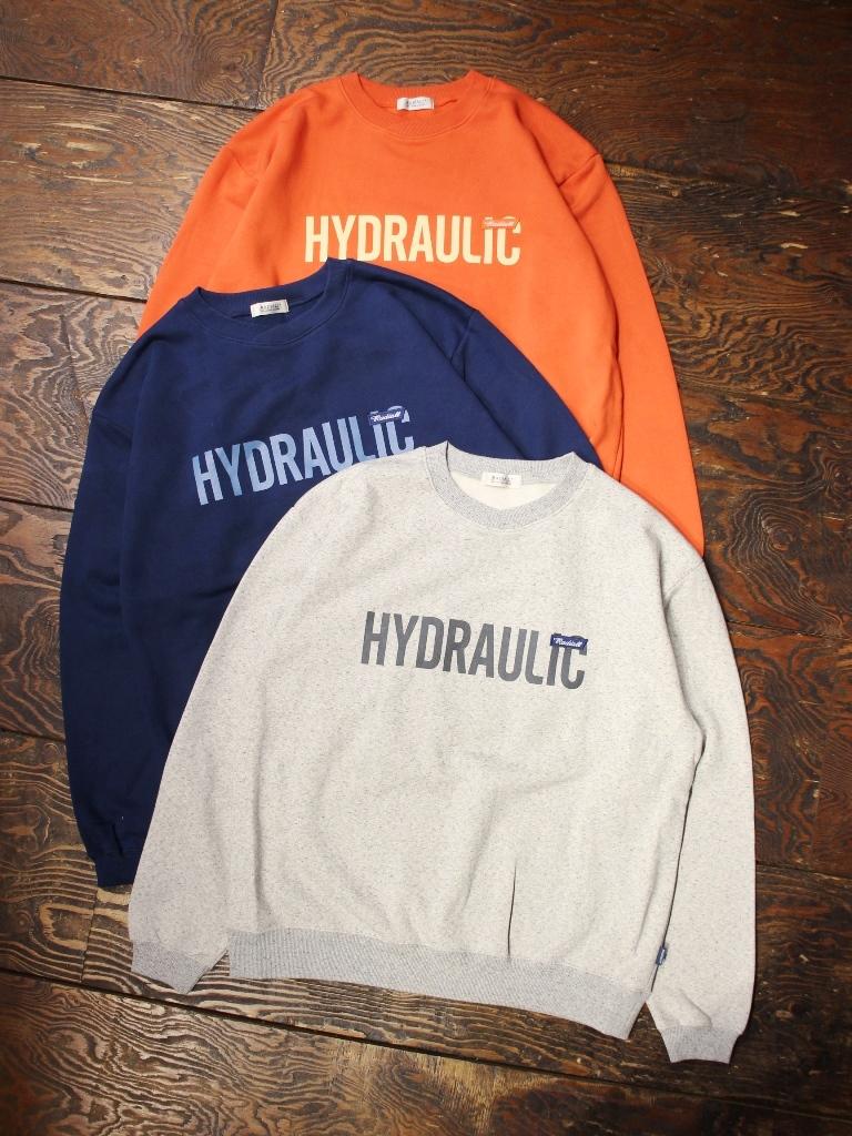 RADIALL  「HYDRAULIC - CREW NECK SWEATSHIRT L/S」  クルーネックスウェット