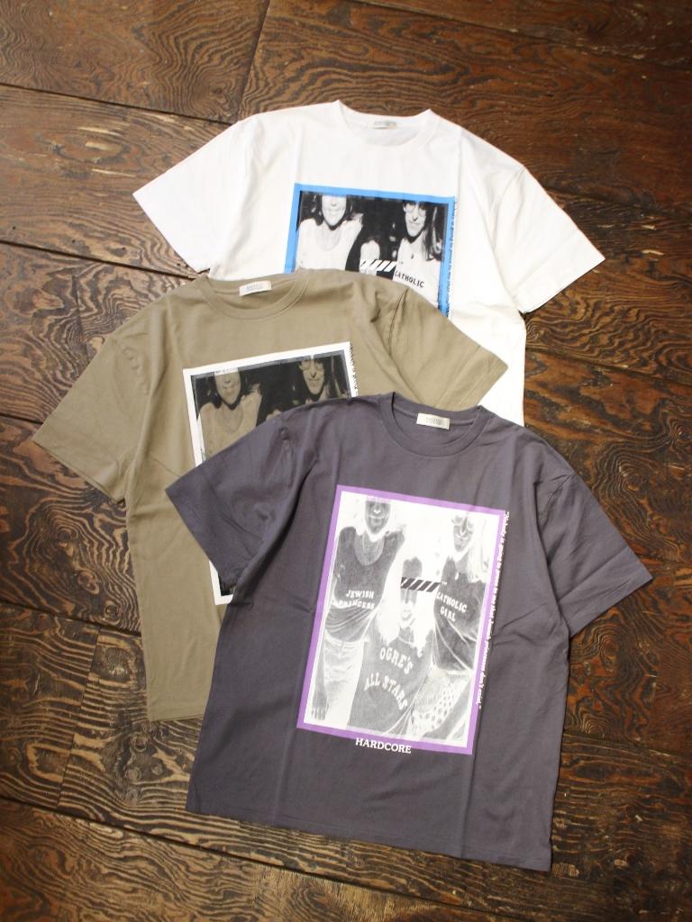 RADIALL    「FREE - CREW NECK T-SHIRT S/S」 プリントティーシャツ