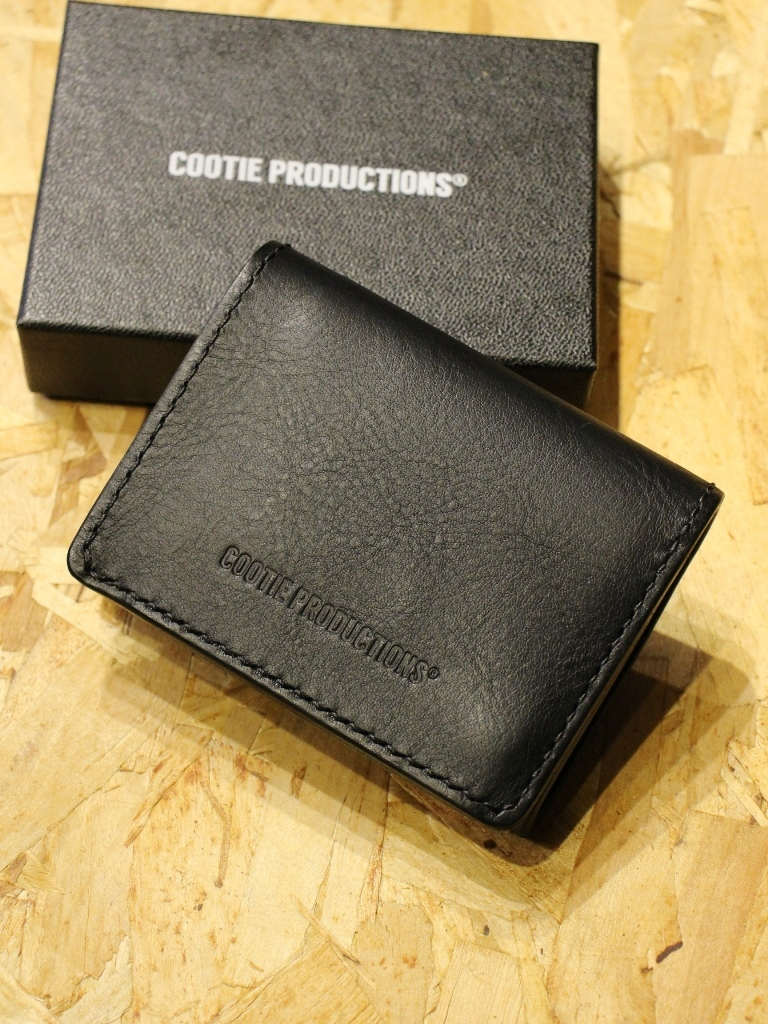 COOTIE   「Leather Clasp Wallet」  レザーショートウォレット