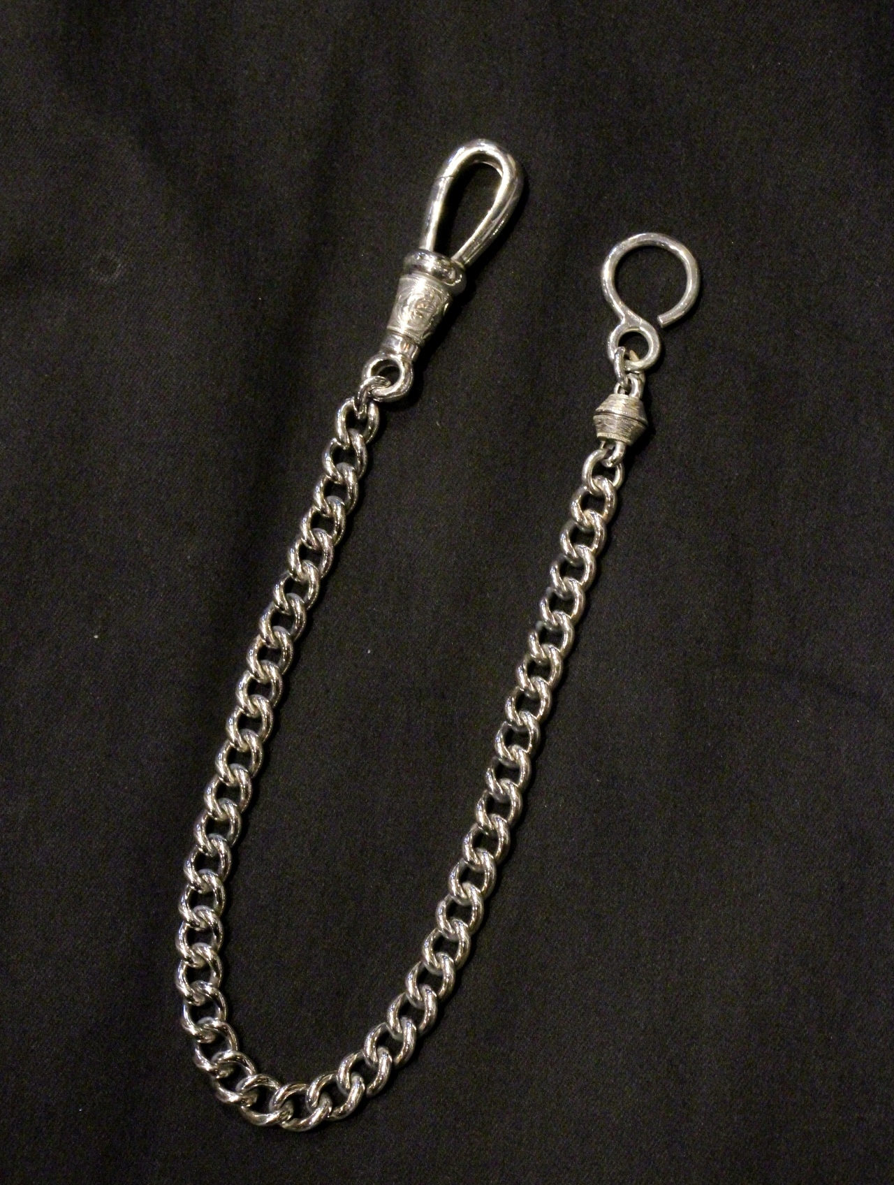 ANTIDOTE BUYERS CLUB by Cootie Productions  「Classic Narrow Wallet Chain」 SILVER950製 ウォレットチェーン
