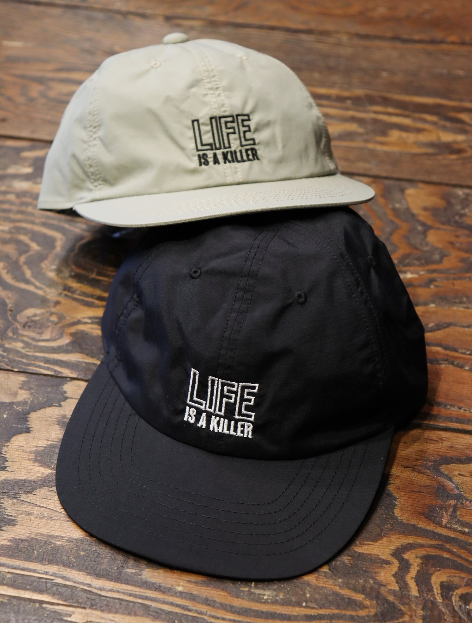 ROUGH AND RUGGED   「DESIGN CAP/ LIFE 」  ナイロンキャップ