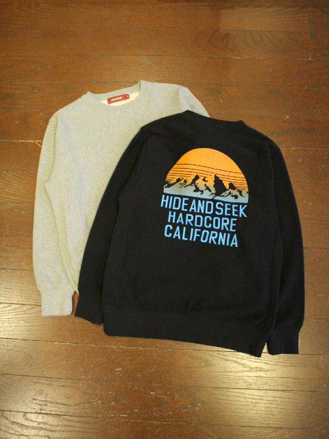 HIDEANDSEEK 「Mountain Sweat Shirt」 プルオーバースウェット