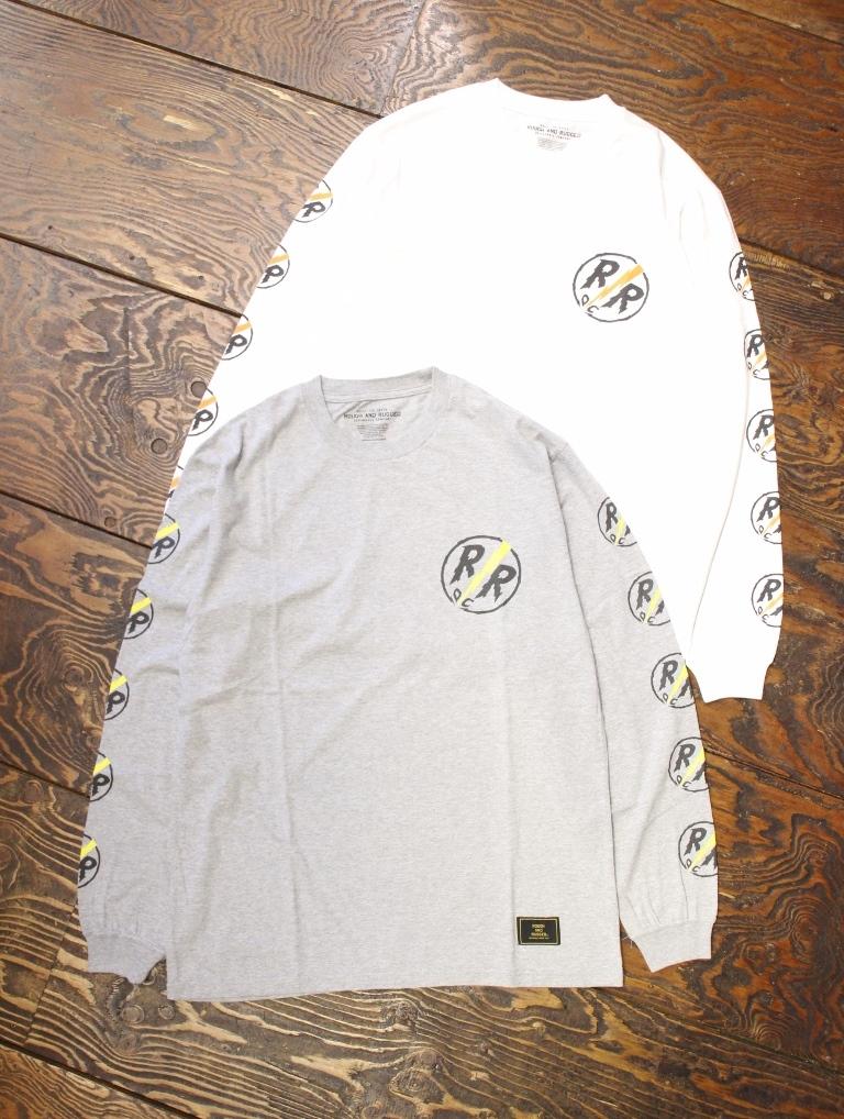 ROUGH AND RUGGED   「DESIGN LS-02 (RR CIRCLE LS) 」 ロングスリーブティーシャツ