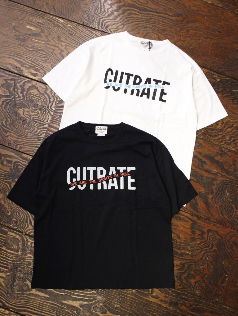 CUT RATE  「BIG SIZE LOGO POCKET T-SHIRT」 ポケットティーシャツ