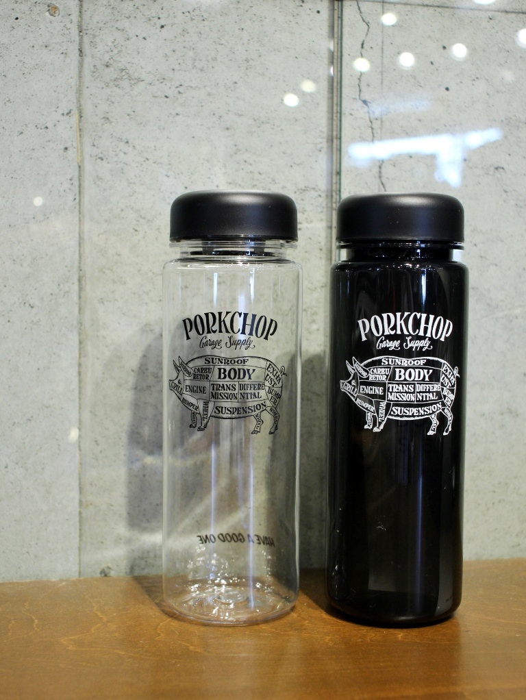 【再入荷 !!】 PORKCHOP GARAGE SUPPLY   「REUSE BOTTLE Type-A 500」  リユースボトル