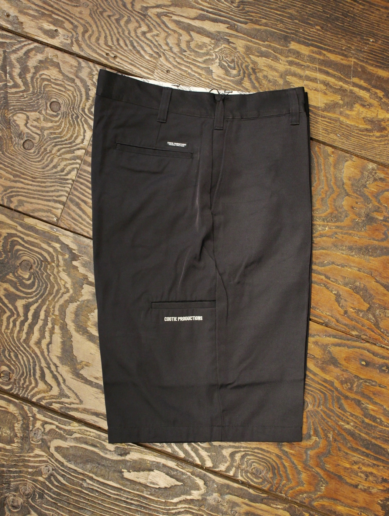 COOTIE  「N/C Twill X Wide Shorts」 コットンナイロン ワイドショーツ