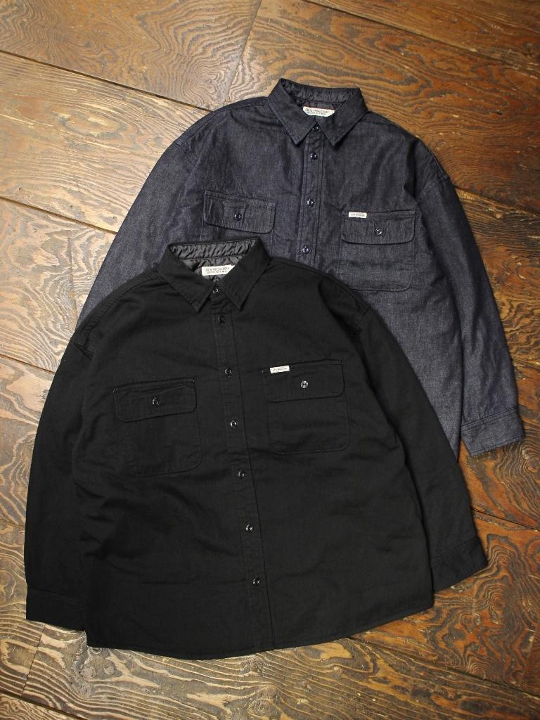 COOTIE  「 Denim Quilting Shirt Jacket 」 デニムシャツジャケット