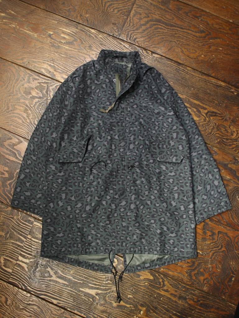 GANGSTERVILLE   「RISE AVOBE - FISHTAIL COAT」  フィッシュテイル コート