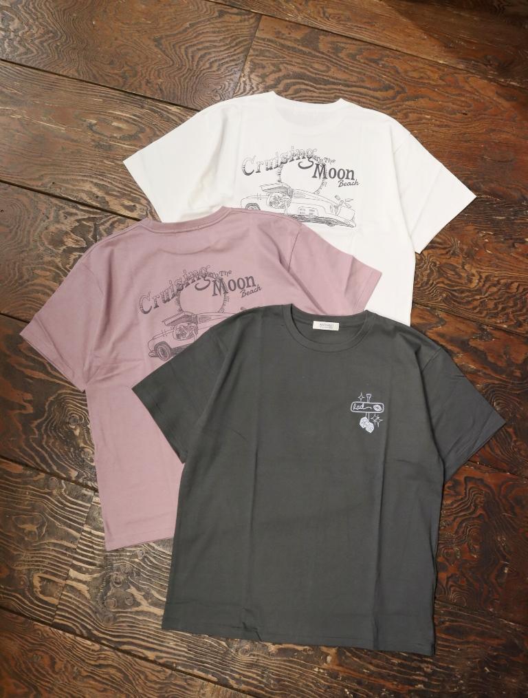 RADIALL  「CRUISE - CREW NECK T-SHIRT S/S」  プリントティーシャツ